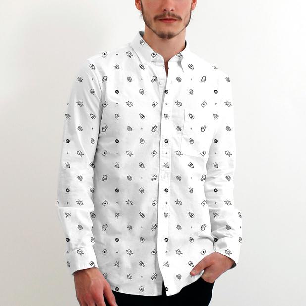 Oxford Shirt Tattoo