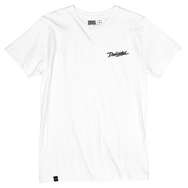 T-shirt Stockholm Dedicated Script