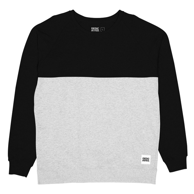 Sweatshirt 50-50  Black/Grey