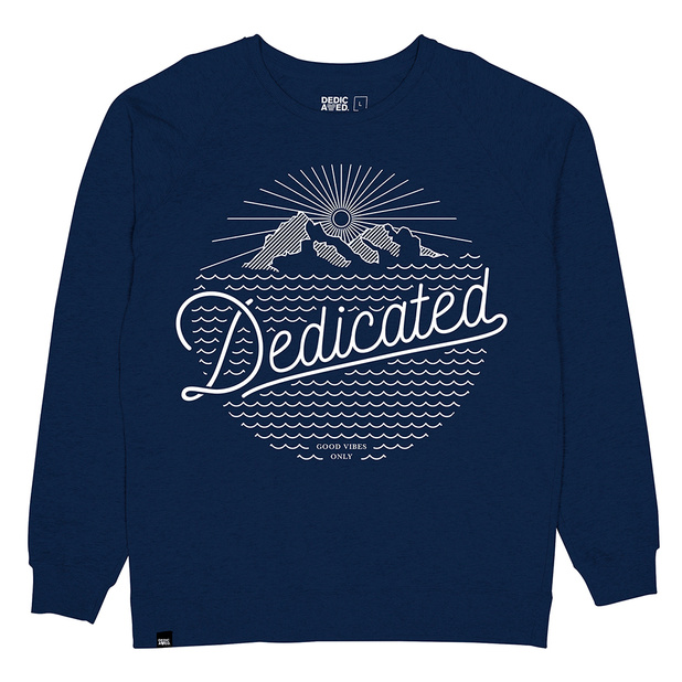 Sweatshirt Dedicated Mountain Script