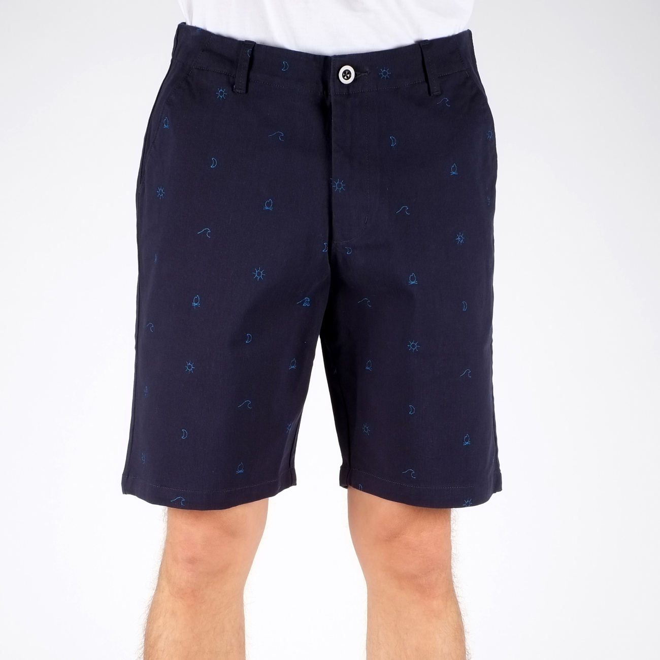Casual Shorts Camp Pattern