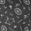 Stockholm T-shirt Bike Parts Pattern