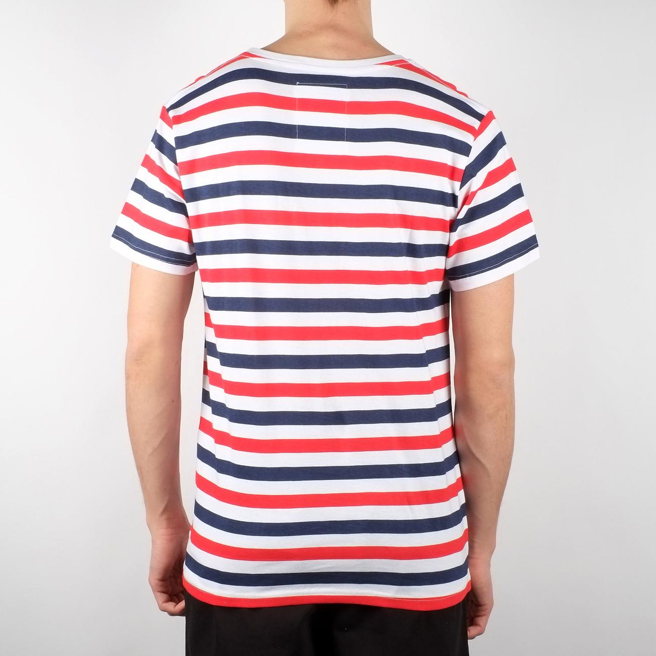 Stockholm T-shirt Liberty Stripes
