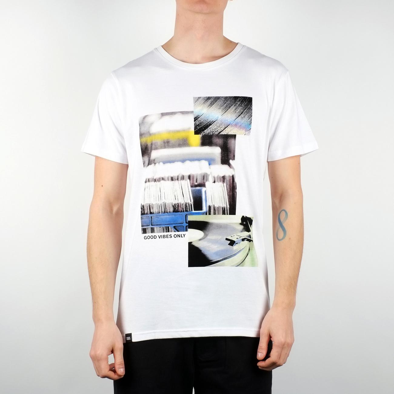 Stockholm T-shirt Vinyl Collage