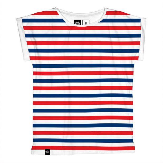 Visby T-shirt Liberty Stripes
