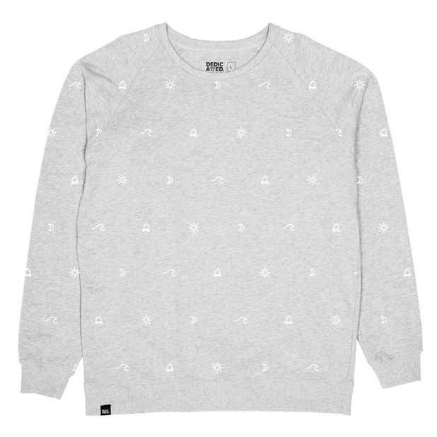 Malmoe Sweatshirt Camp Pattern