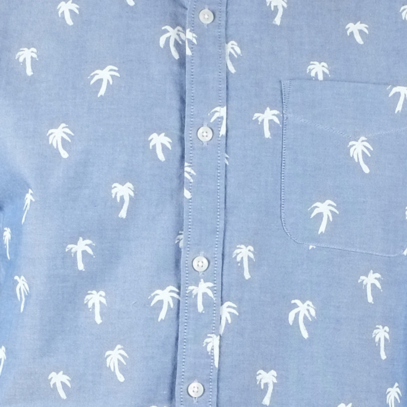 Varberg Shirt Painted Palms