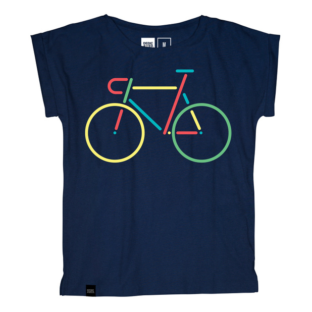 Visby T-shirt Color Bike