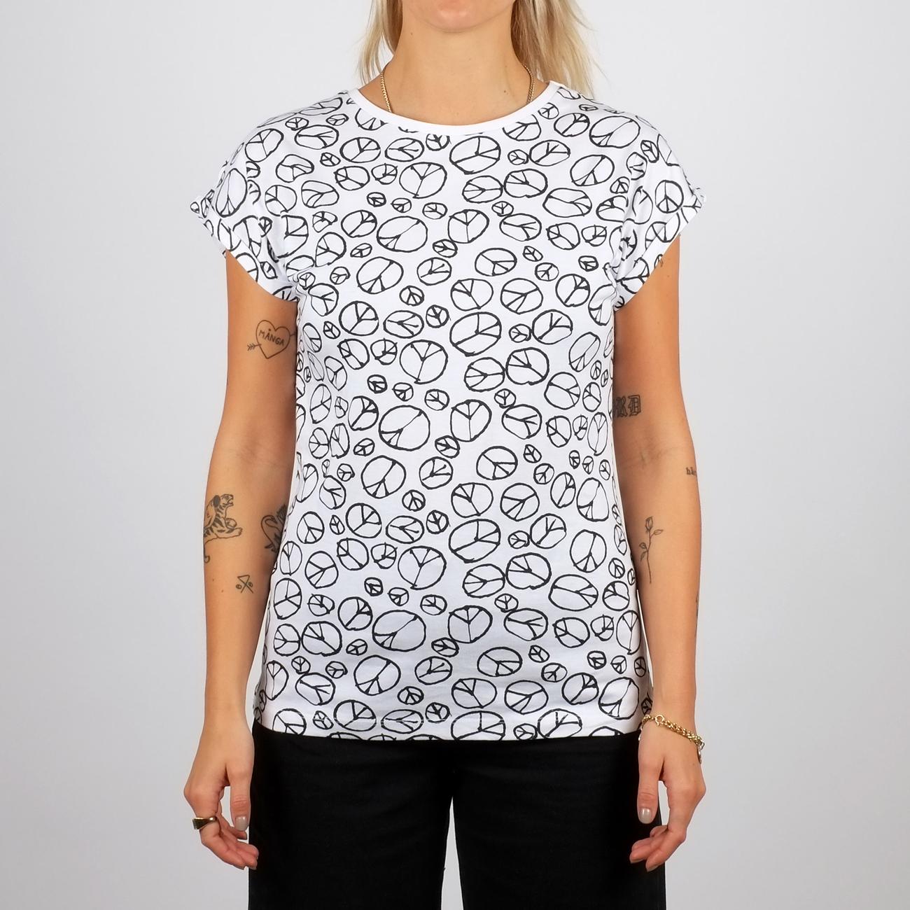 Visby T-shirt Peace Pattern