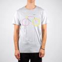 Stockholm T-shirt Color Bike Grey Melange