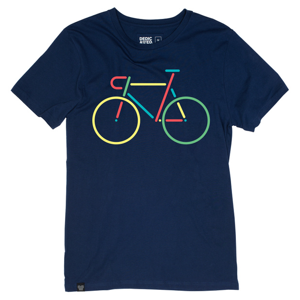 Stockholm T-shirt Color Bike Navy