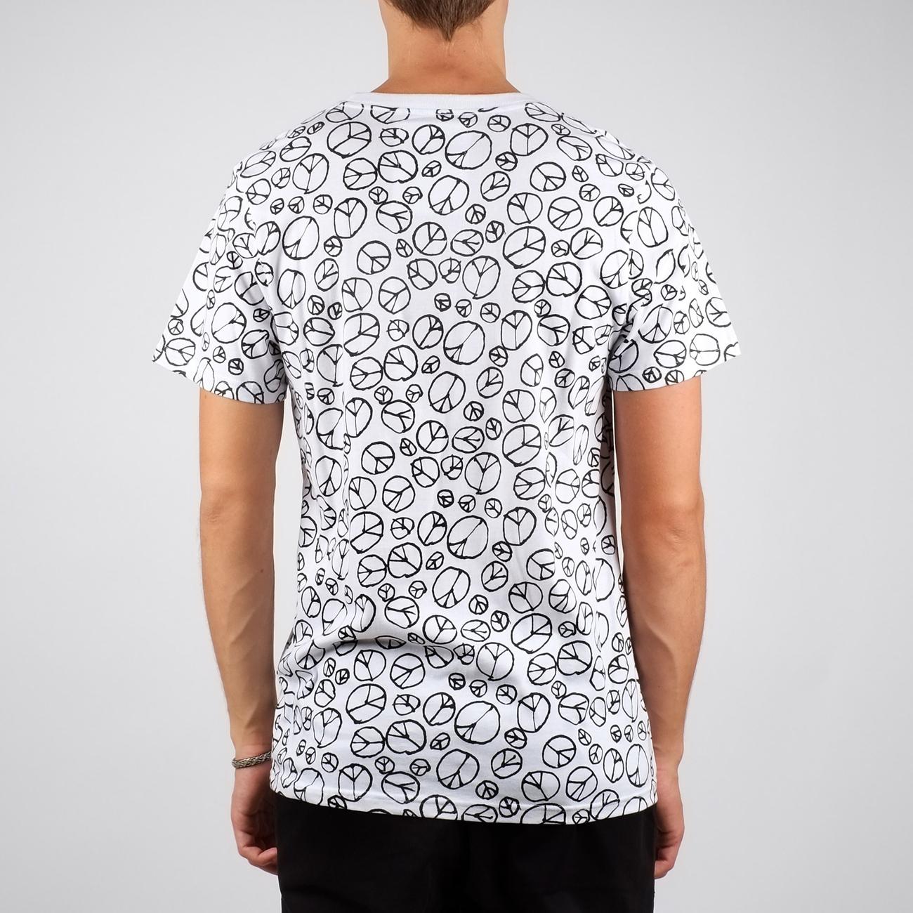 Stockholm T-shirt Peace Pattern