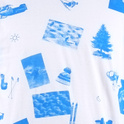 Stockholm T-shirt Ski Collage