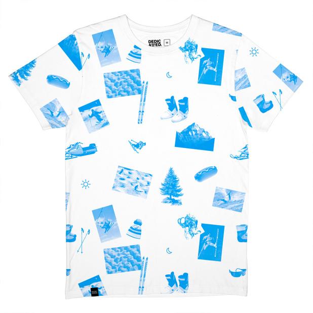 Stockholm T-shirt Ski Collage