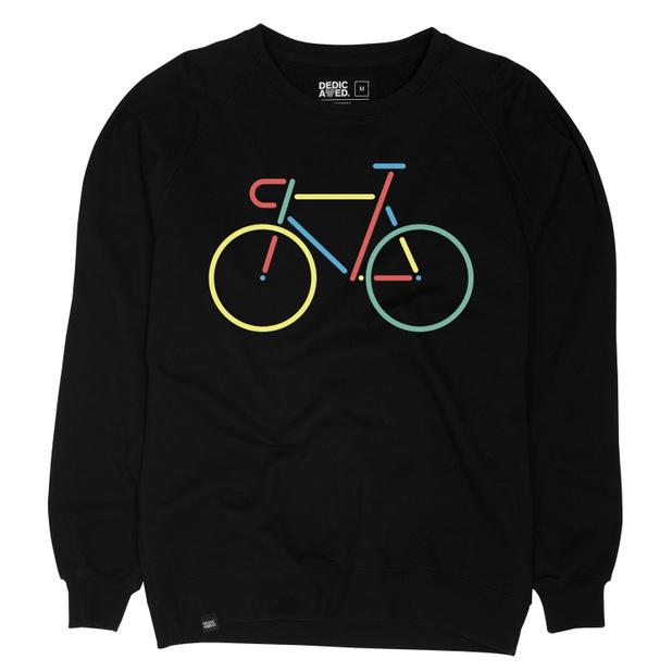 Malmoe Sweatshirt Color Bike Embroidery