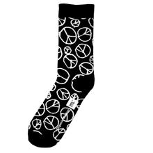 Socks Peace Pattern