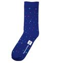 Socks Blue Confetti