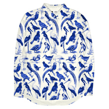 Shirt Blue Birds