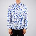 Shirt Blue Birds