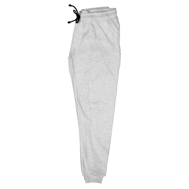 Jogger Pants Lund Plain Grey Melange
